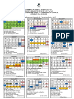 Calendario Quinta Proposta 2017