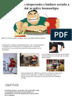 Aspectos Intrapersonales y Familiares Asociados a La Obesidad
