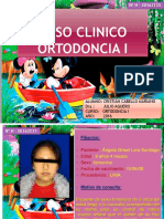 Caso Clinico de Ortodoncia I