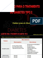 Algoritmo Para o Tratamento Do Diabetes Tipo 2 - Atualizado 11.2017 (Slides Resumidos)
