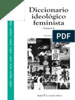 Sau, Victoria - Diccionario ideológico feminista II.pdf · versión 1.pdf