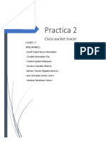 Cisco Packet Tracer Practica 2