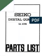 Seiko a239a