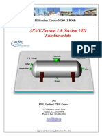 ASME Section 1 and Section 8 - Fundamentals