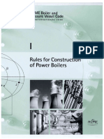 ASME Section 1 - Rules for Construction of Power Boilers