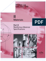 ASME Section 2B - Materials - Nonferrous Material Specifications