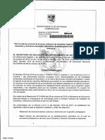 Decreto 2018070003030 P.O.T 2017 - 2018