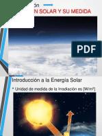 Continuación Radiación Solar