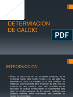 Determinacion de Calcio