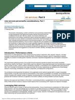 [Adams 2004] Web Services Performance
