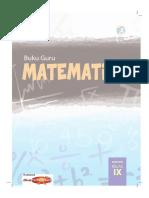 Matematika 9 K13 (Guru)