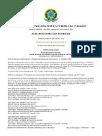 Diário Eletrônico Da Justiça Federal Da 3a Região