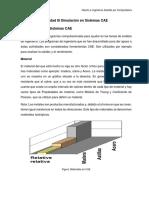 3.1 Materiales en Sistemas CAE LISTO