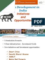 6 Urban Development in India Initiatives Opportunities
