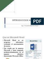 01 Introduccion Al Word