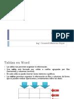 04 Word - Tablas