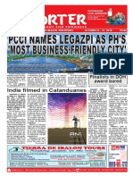 Bikol Reporter October 21 - 27, 2018 Issue