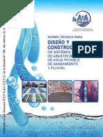 Norma diseño y construccion sistemas agua, saneamiento y  pluvial 2017.pdf