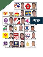 Candidatos Regionales y Municipales