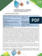 Syllabus Del Curso Manejo de Recursos Naturales y Energéticos