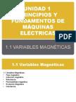 Unidad 1 Maquinas Electricas