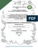 Informe de Biodiversidad