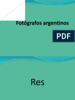 Fotógrafos Argentinos