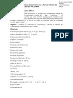 Protocolo HPLC/RMM