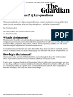 What is the internet? 13 key questions answered | Technology | The Guardian