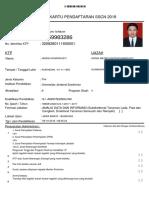 Kartu Pendaftaran A
