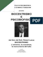 Biocentrismo e Psicobiofisica