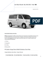 Rental & Sewa Daihatsu Gran Max Harian Murah ☎ 0821 1313 0173 TravelBos.id