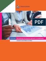 eBook Metodologia Da Pesquisa Aplicada a Contabilidade-Ciências Contabeis UFBA