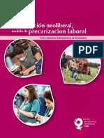 Globalizacion Neoliberal Modelo de Precarizacion Laboral