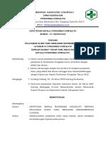 Sk Pelayanan Klinis Yang Menjamin Kesinambungan Layanan (57-6 Mar) r