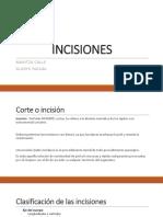 incisiones