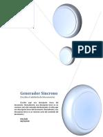 Generadores sincronos
