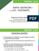 Fisioterapia Gestación Parto y Post Parto