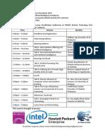 AI Revolution 2018 - Event Agenda (18 Oct @ MIMOS)