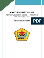 Laporan Bulanan Maret 2018