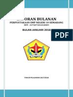 Laporan Bulanan Januari 2018