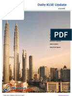 Daily KLSE Malaysia stocks Report 24 Oct 2018