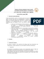 Acta Segunda Asamblea de Carrera 26-04