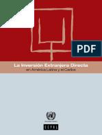 Actitudes Gubernamentales Hacia La Inversión Extranjera Directa