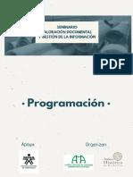 PROGRAMACIÓN SEMINARIO OCT16