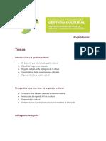 Gestion Cultural_ Retos Profesionales en El Siglo XXI