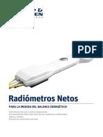 KippZonen Brochure Net Radiometers V1302 Spanish Dilus