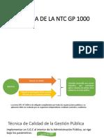 Historia de La NTC GP 1000