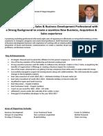 Amit Rai Resume PDF