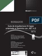 Guia Arquitectura N-Capas DDD NET 4 (Borrador Marzo 2010)